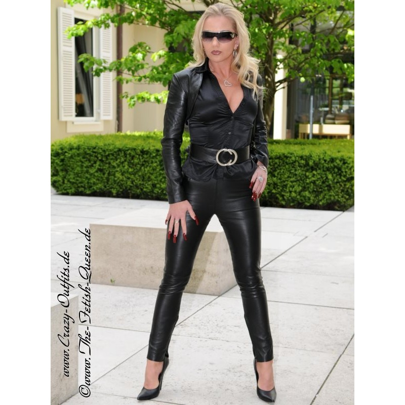 Leather Bolero Sjw 018 Crazy Outfits Webshop For
