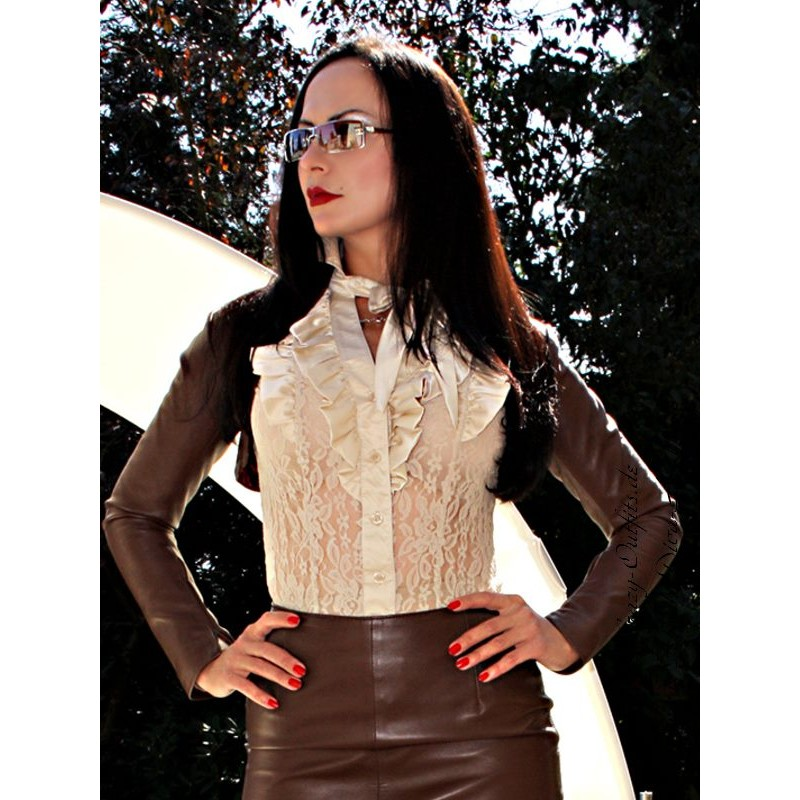 leather bolero sjw 018 crazy outfits webshop for leather clothing shoes and more. Black Bedroom Furniture Sets. Home Design Ideas