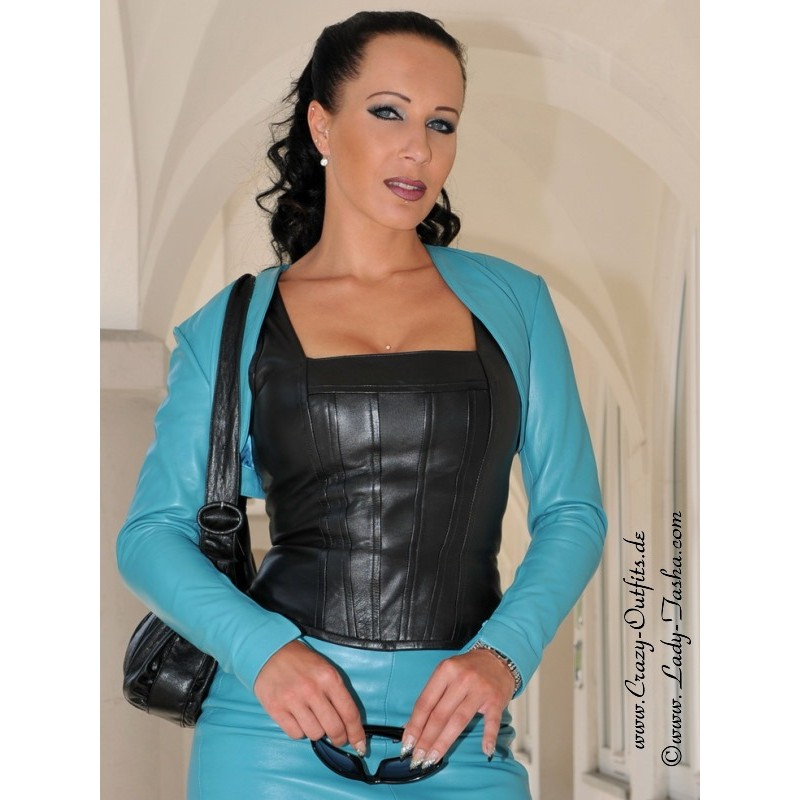 Leather Bolero Sjw 018 Crazy Outfits Webshop For