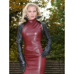 Leather bolero SJW-021