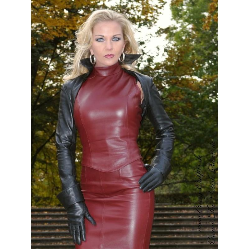 Leather Bolero Sjw 021 Crazy Outfits Webshop For