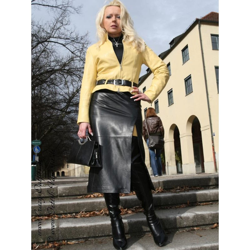 leather skirt ssw019 crazyoutfits webshop for