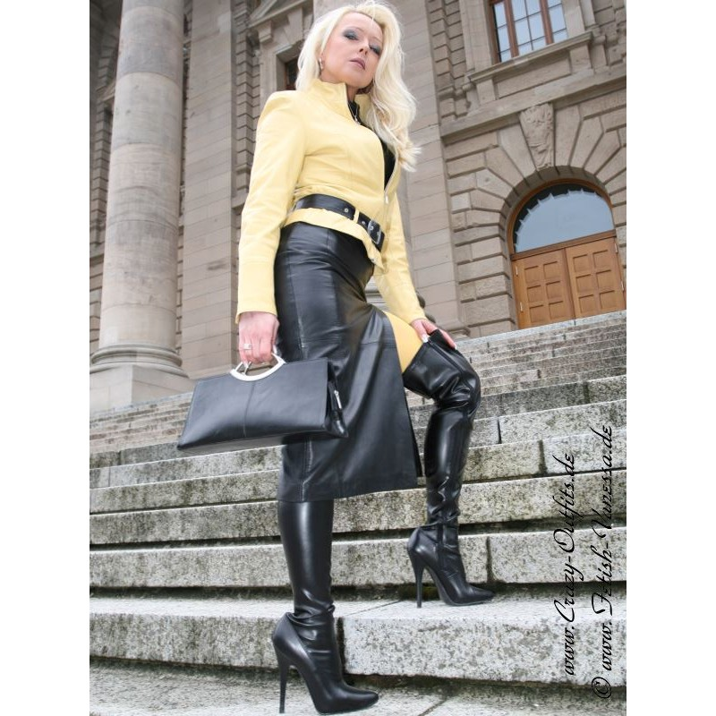 Lederrock SSW-019 : Crazy-Outfits - Webshop für
