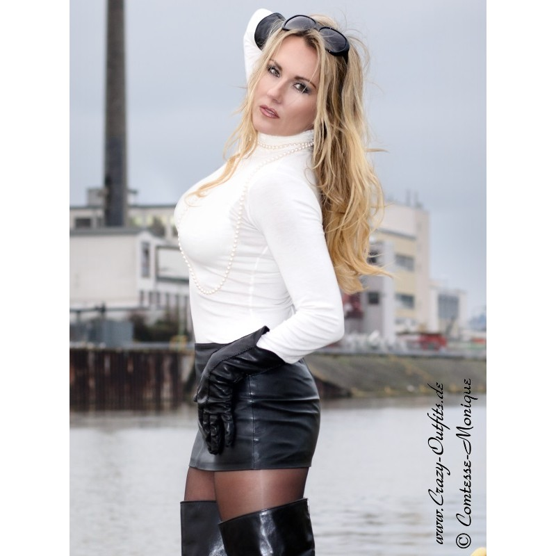 leather skirt ssw021 crazyoutfits webshop for