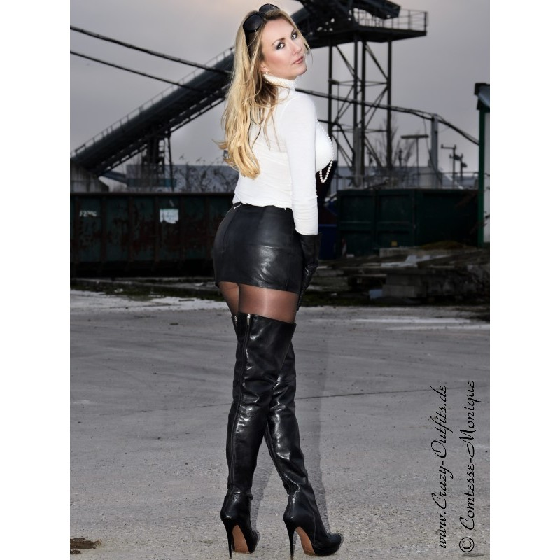 Leather Skirt Ssw 021 Crazy Outfits Webshop For