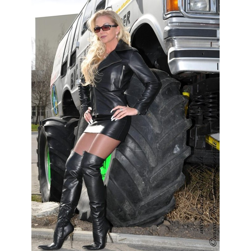 Leather Skirt SSW-021HDS 30 Cm : Crazy-Outfits