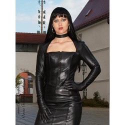 Leather top 4-006T black