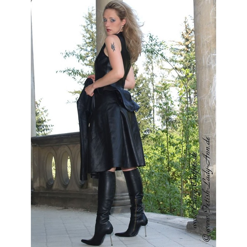 leather skirt ssw041  crazyoutfits  webshop for
