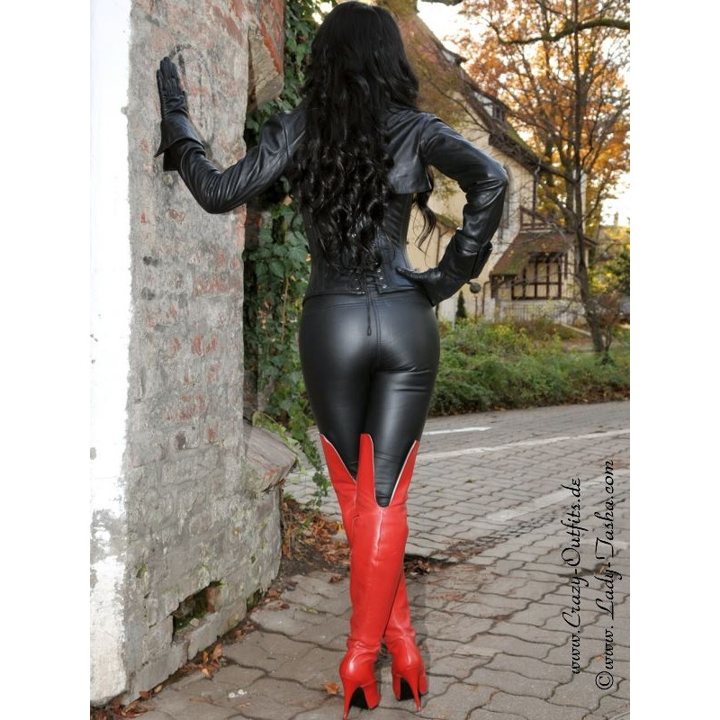 leather corset 3-127   crazy-outfits