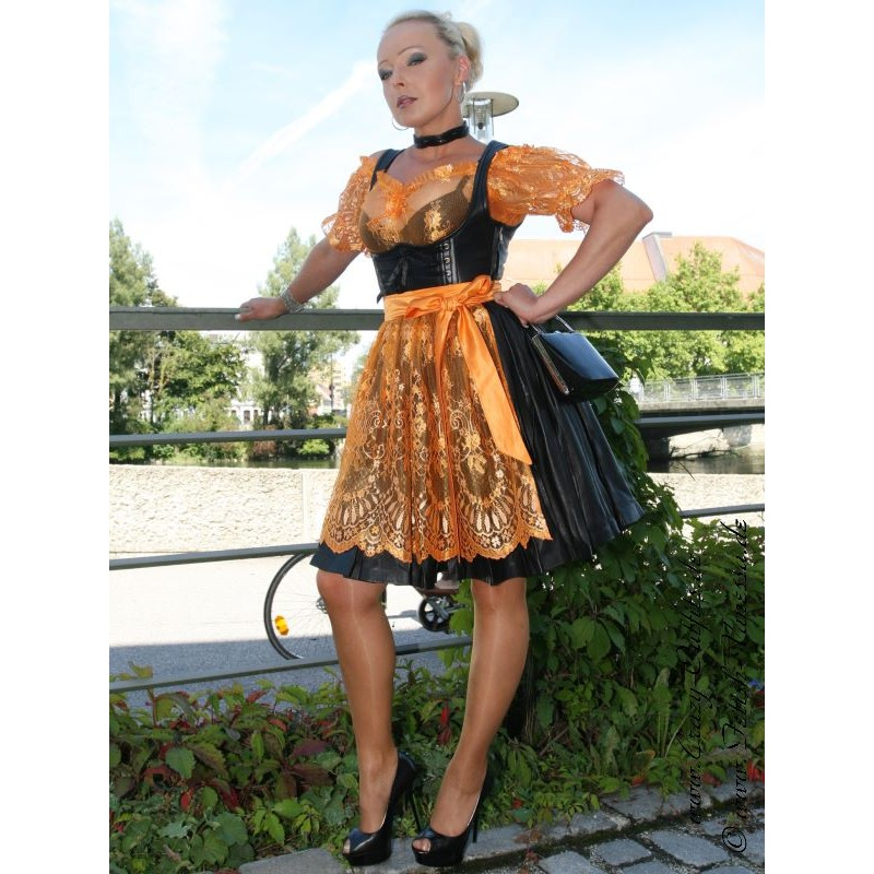 Leather Dirndl Ds 136 Crazy Outfits Webshop For
