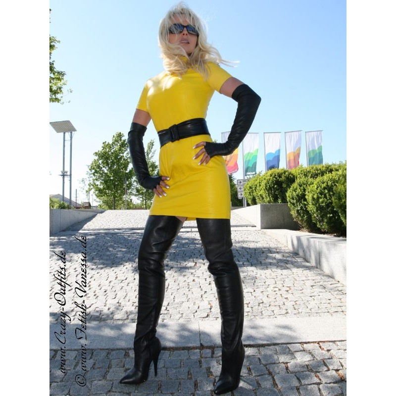 Overknee L8899 Leather Crazy Outfits Webshop For