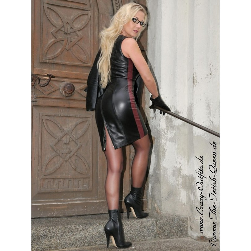 Leather Dress Ds 138 Crazy Outfits Webshop For Leather