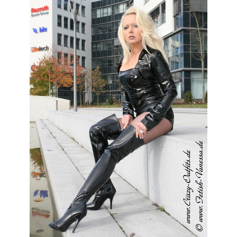 Overknee Seduce 3000 Vinyl Crazy Outfits Webshop For