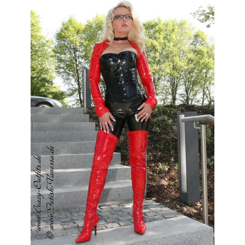 overknee seduce  lack crazy outfits webshop fuer