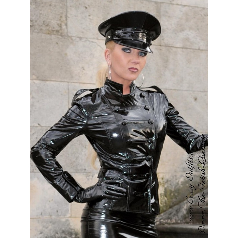Vinyl Jacket Ds 604v Crazy Outfits Webshop For Leather
