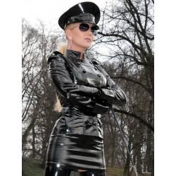 Vinyl skirt SSW-021HDSV 36cm black