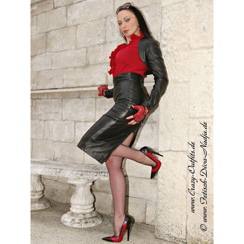 leather skirt ds530 crazyoutfits webshop for leather