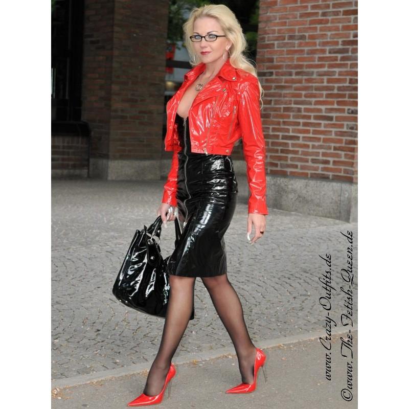 Vinyl Dress Ds-031V  Crazy-Outfits - Webshop For Leather -6818