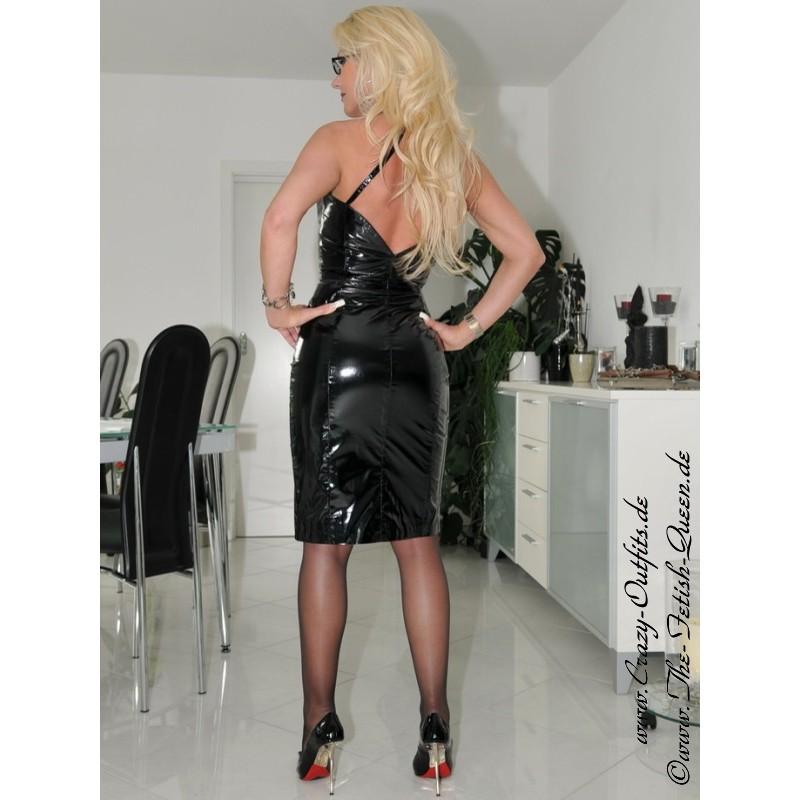 Vinyl Dress Ds 031v Crazy Outfits Webshop For Leather