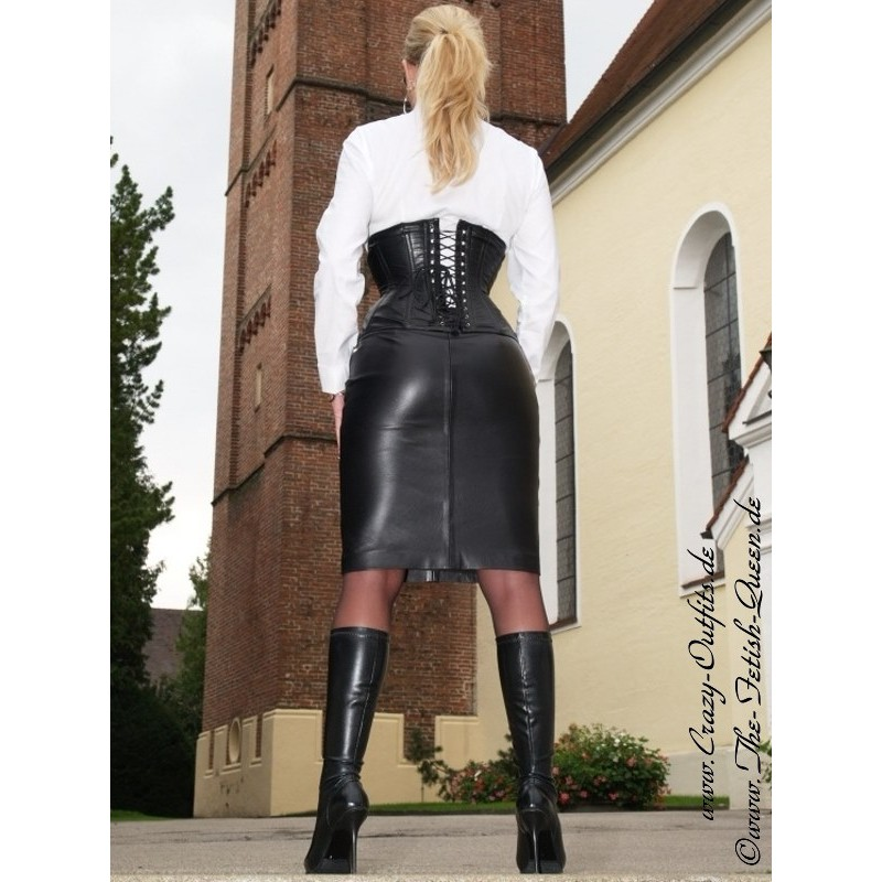 leather skirt ds540  crazyoutfits  webshop for leather