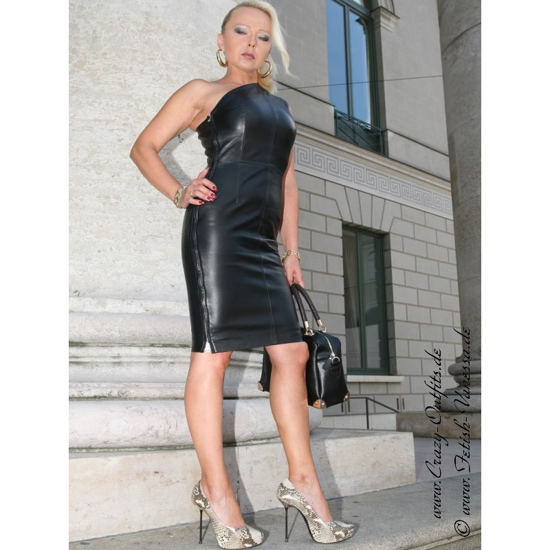 Leather Dress DS-140 : Crazy-Outfits
