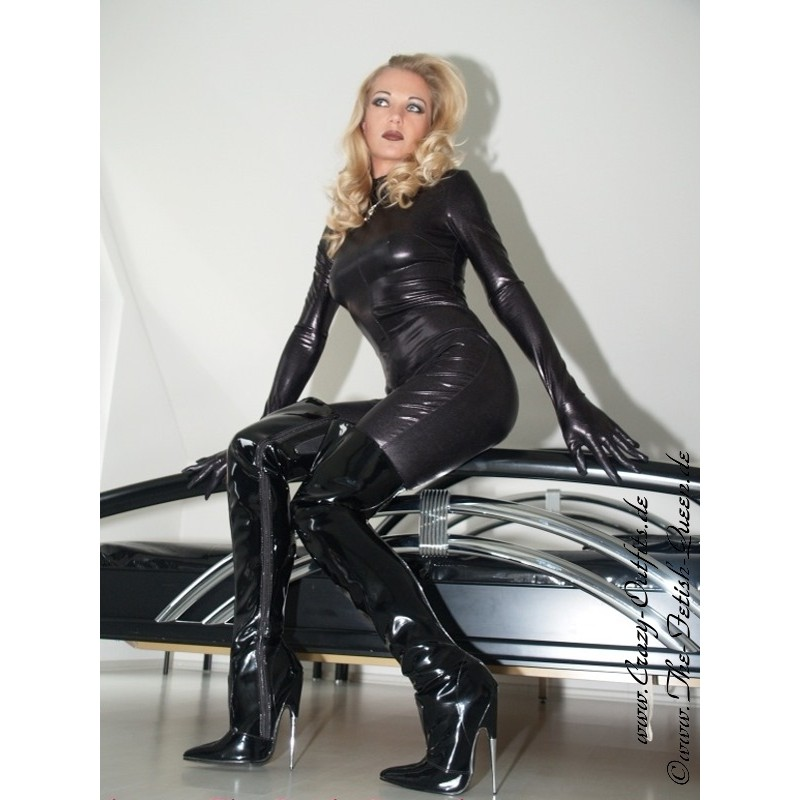 Overknee Scream 3010 Crazy Outfits Webshop For Leather