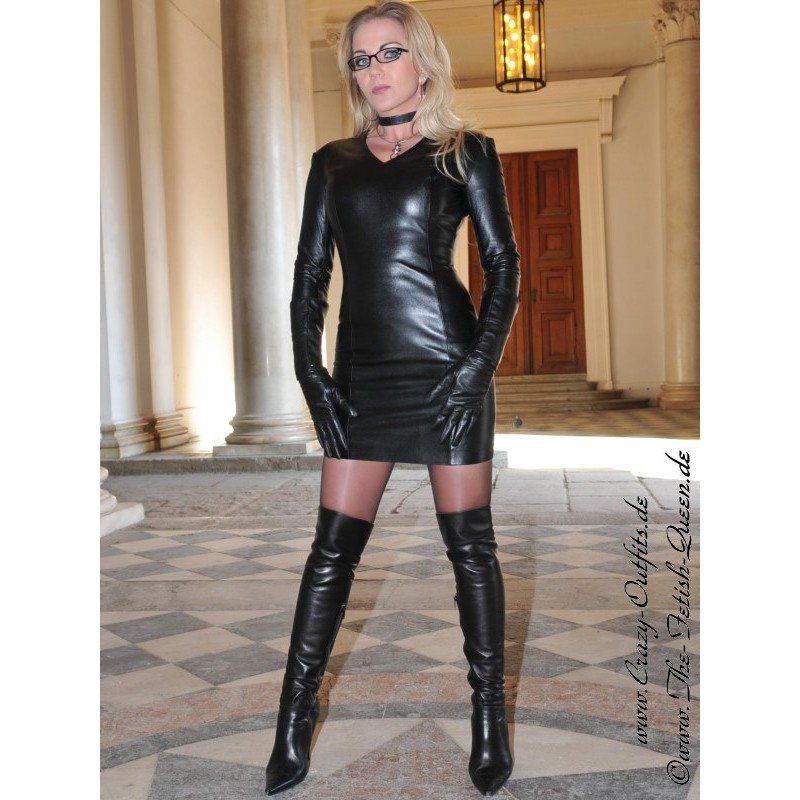 Leather Dress Ds 144 Crazy Outfits Webshop For Leather