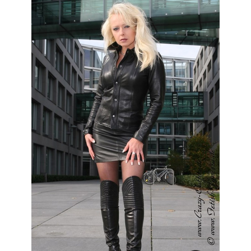 Leather Blouse Ds 322 Crazy Outfits Webshop For
