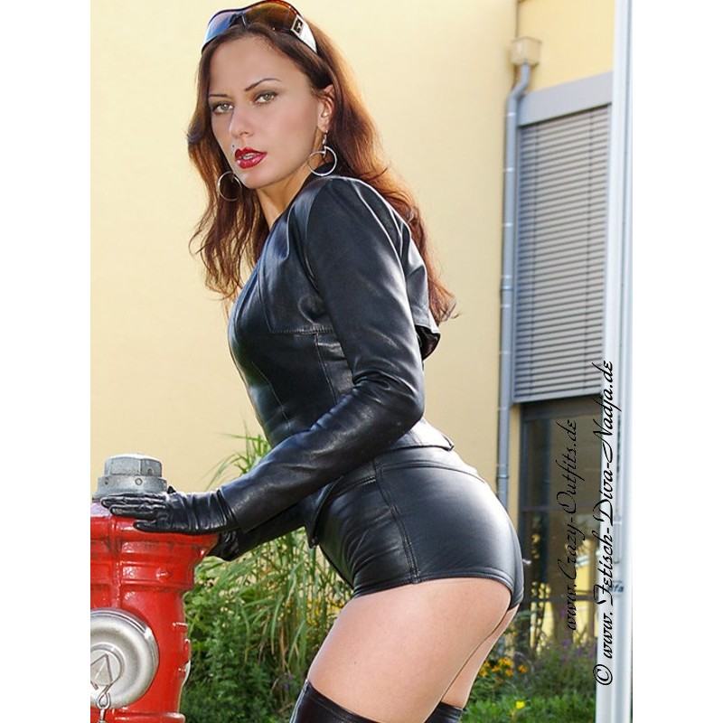 Leather Hotpants Ds 424 Crazy Outfits Webshop For