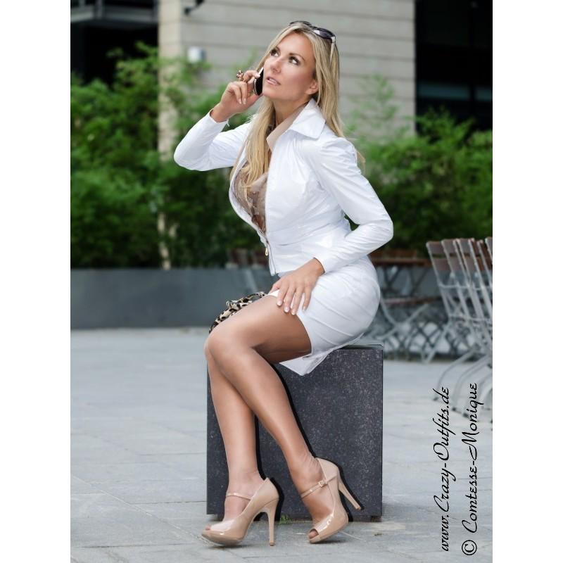 Vinyl Skirt Ds 528v Crazy Outfits Webshop For Leather