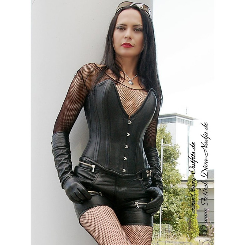 Leather shorts DS-426 : Crazy-Outfits - webshop for ...