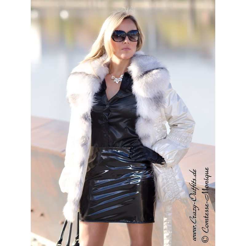 Vinyl Skirt Ds 101v Crazy Outfits Webshop For Leather