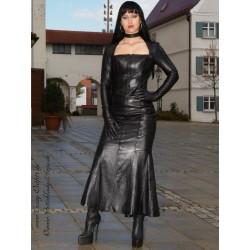 Leather suit 4-006 black