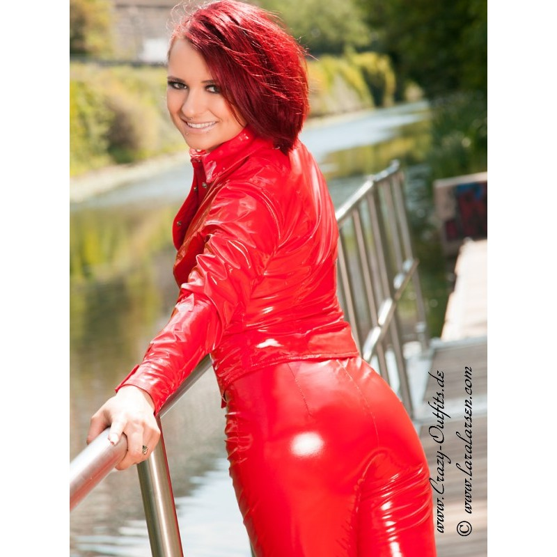 Vinyl Blouse Ds 328v Crazy Outfits Webshop For Leather