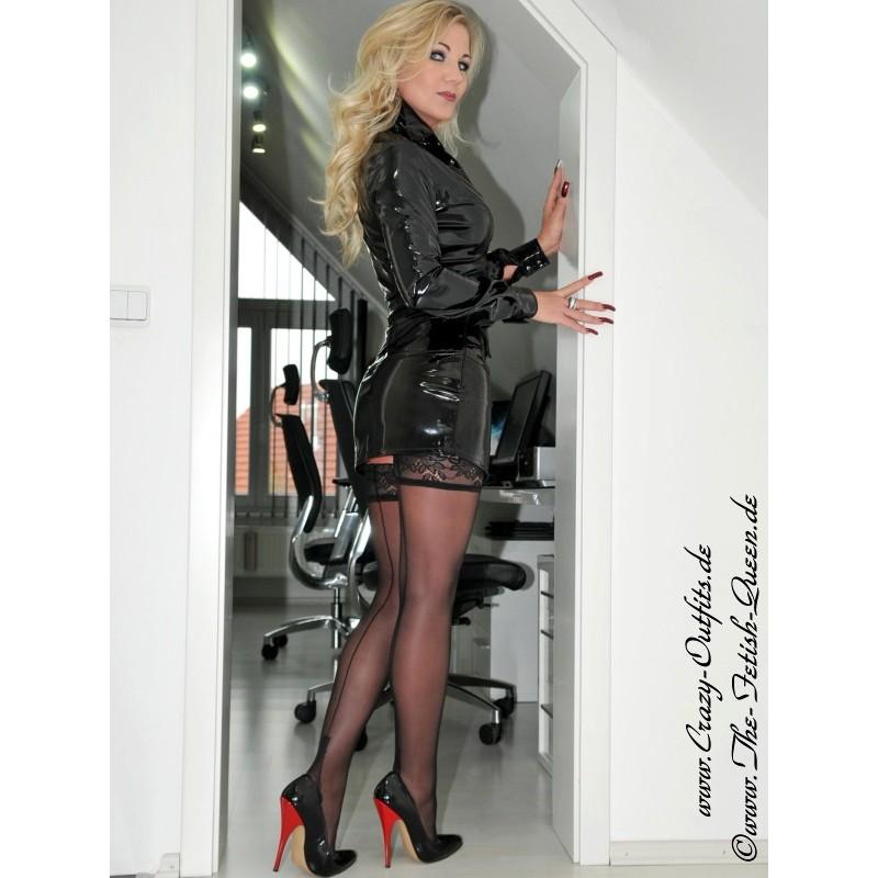 Long Black Skirt Shoes