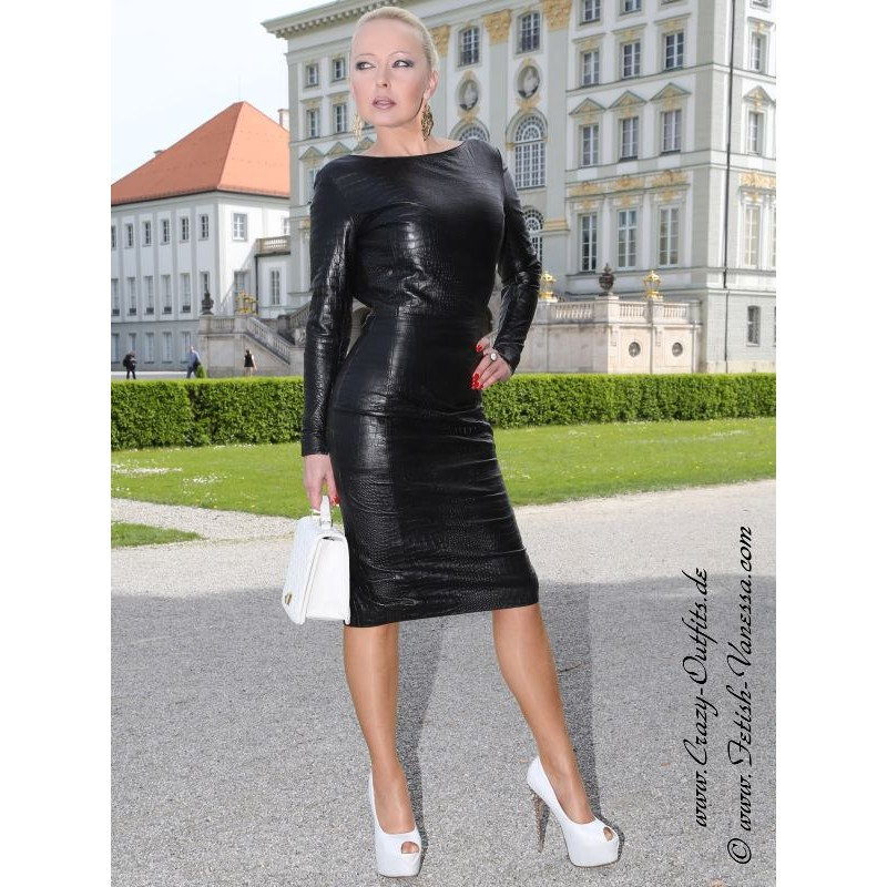 Leather Dress Ds 158 Crazy Outfits Webshop For Leather