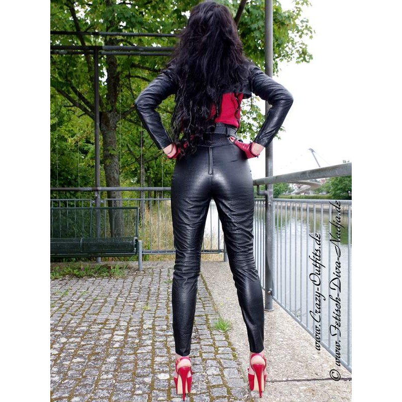 Leather Trouser Ds-432  Crazy-Outfits - Webshop For -4013