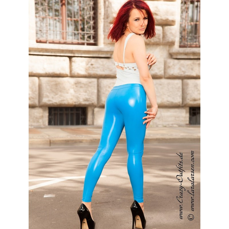 Faux Leather Leggings Razer  Crazy-Outfits - Webshop For -6958