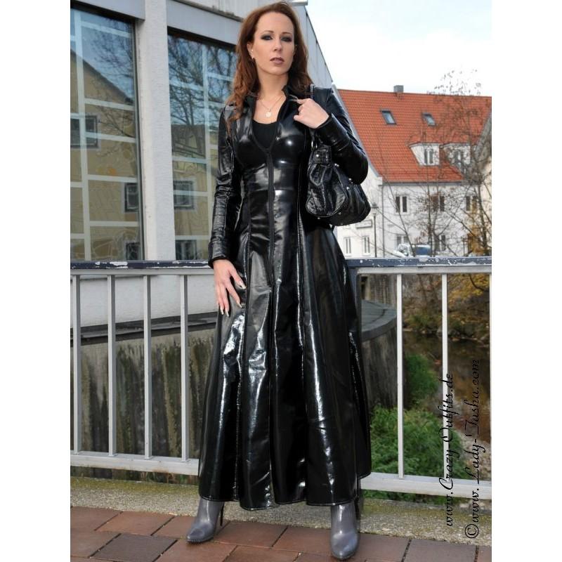 Vinyl Coat Wide 4 012v Crazy Outfits Webshop For