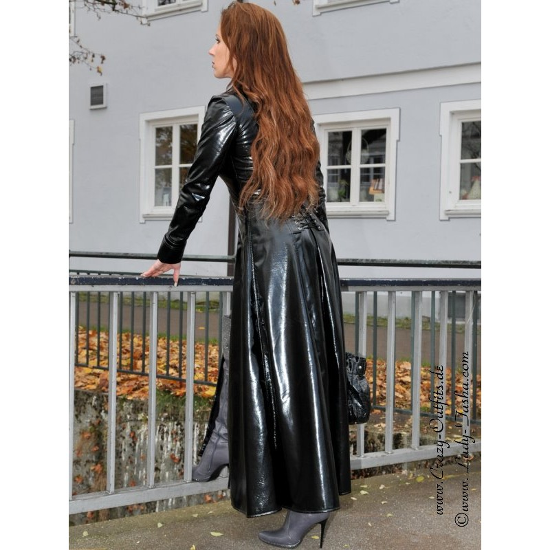 Vinyl Coat Wide 4 012v Crazy Outfits Webshop For