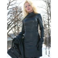 Leather dress 4-022HDS