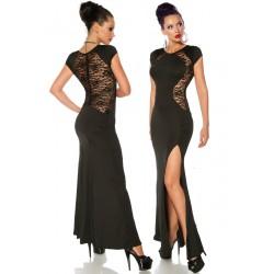 Evening dress 13030 black