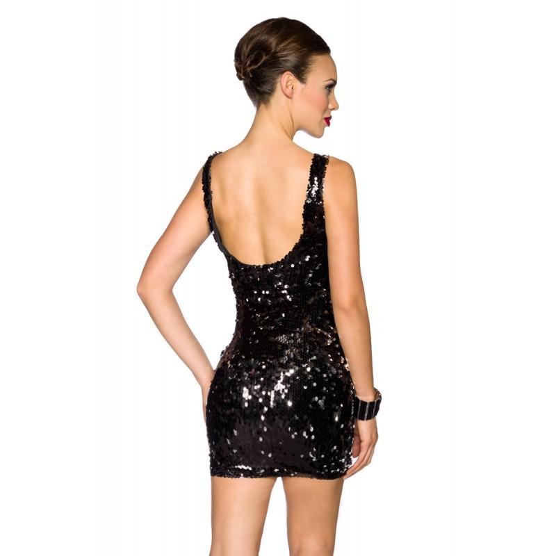 Pailletten Kleid 13674 Crazy Outfits Webshop Fur Lederbekleidung