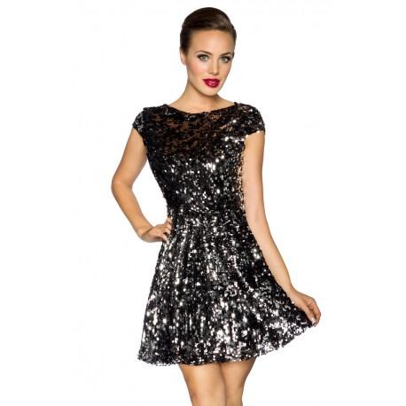 Pailletten Kleid 13665 Crazy Outfits Webshop Fur Lederbekleidung Schuhe Mehr
