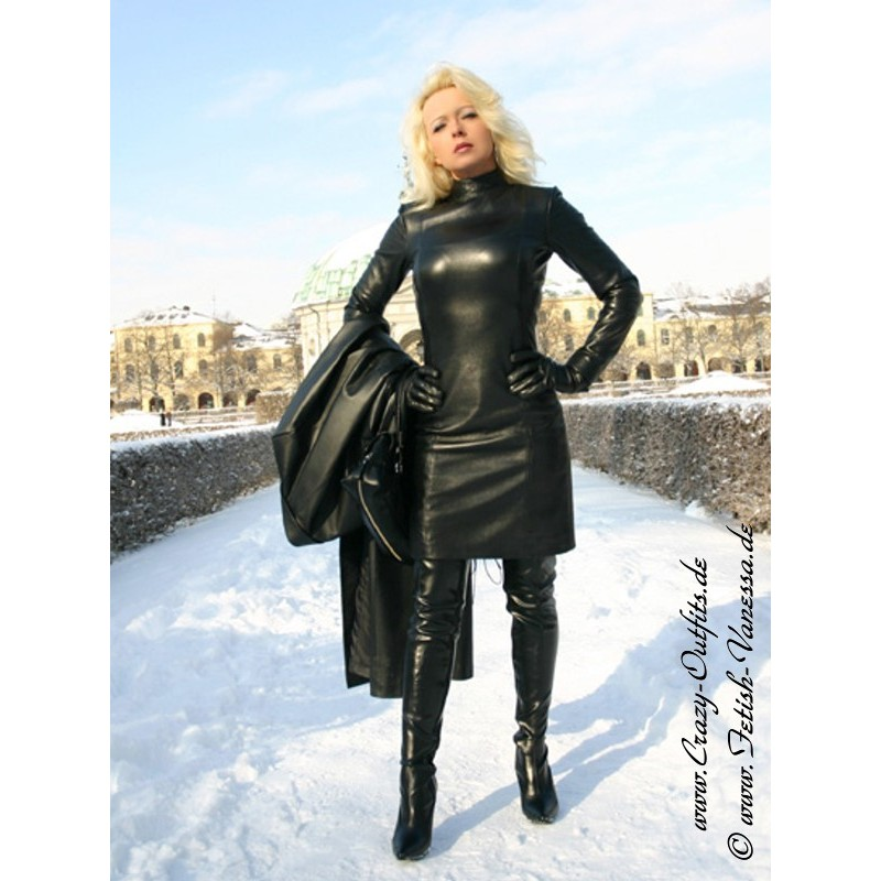 Leather Dress 4 022hds Crazy Outfits Webshop For
