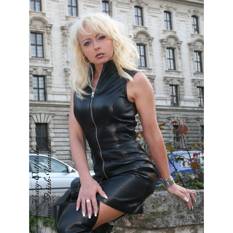 Leather Dress 4 029 Crazy Outfits Webshop For Leather