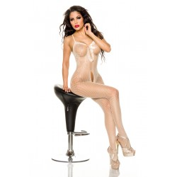 Bodystocking ouvert 13497 Weiß