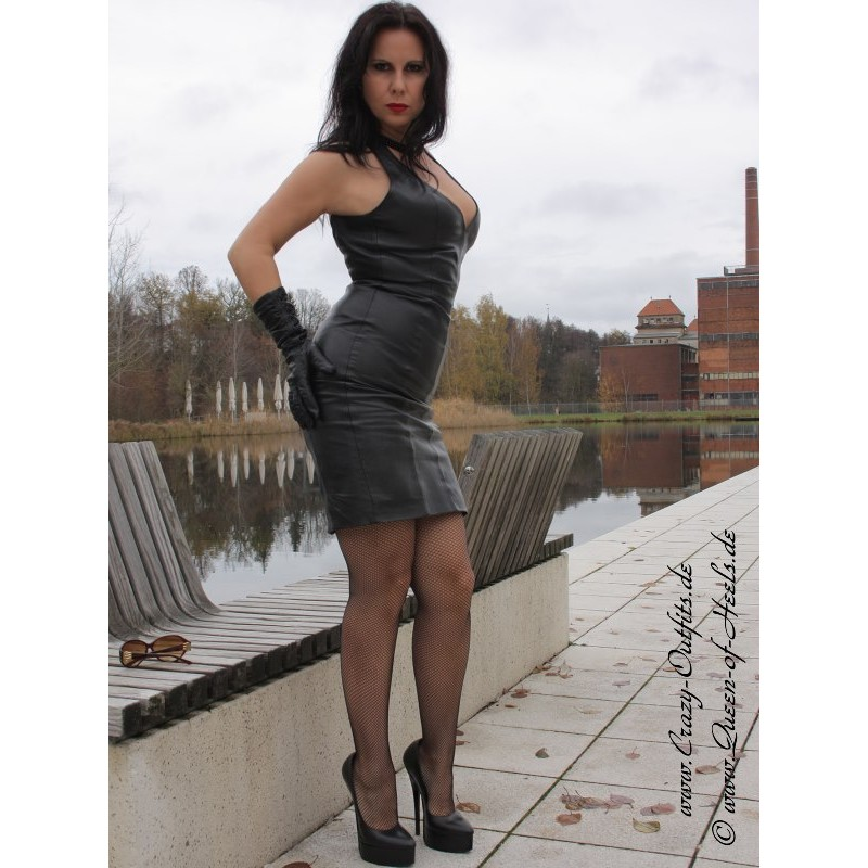 Leather Dress Ds 124 Crazy Outfits Webshop For Leather
