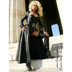 Leather set, 3-part 4-045 black