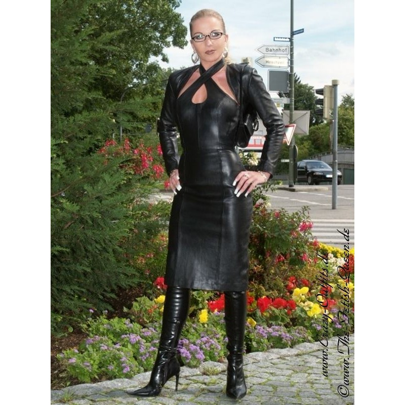 Leather Dress 4 047 Crazy Outfits Webshop For Leather